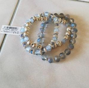 NWT set of three bracelets